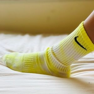 Tie dye Nike socks